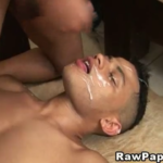 Pica no cu e gozada na cara