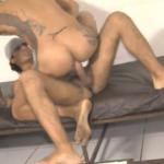 Brasileiro dando pro magrelo pauzudo