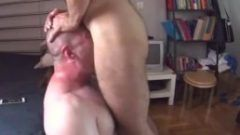 Hot video of a Brutal Throat Fucking