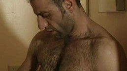Handsome Middle Eastern Hairy Top Fucks
