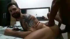 Fodendo musculoso tatuado