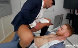 Foda gay com o chefe safado